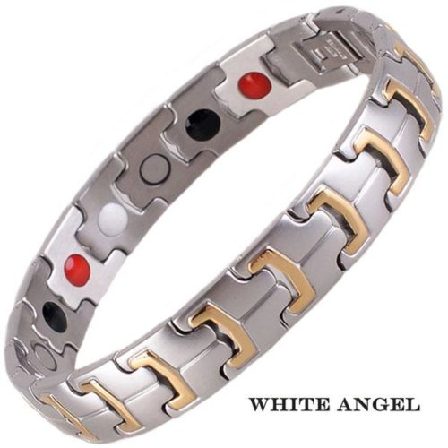 Магнитный браслет Белый Ангел