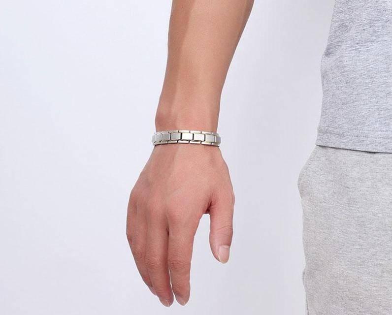 магнитный браслет Константа Gold Silver