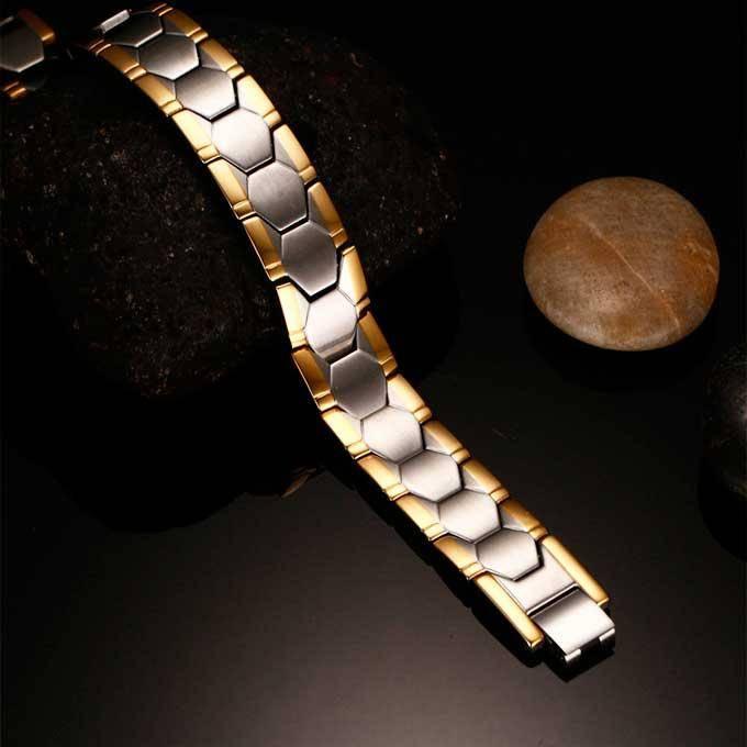Мужской магнитный браслет от давления релакс