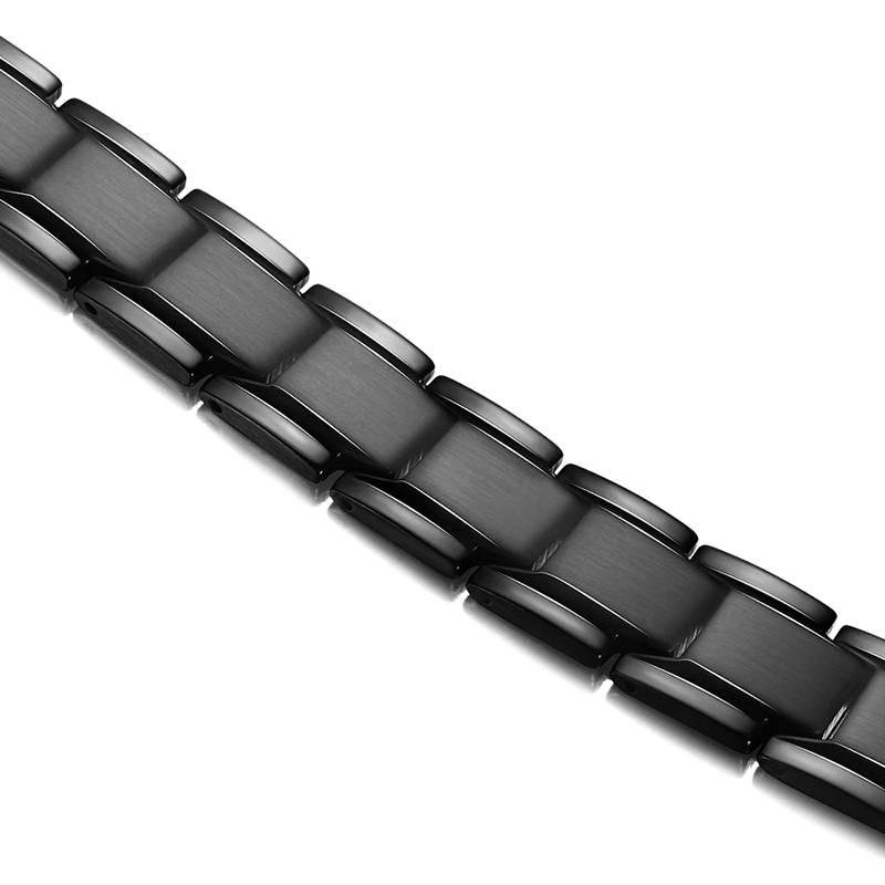 Черный браслет Luxor Константа
