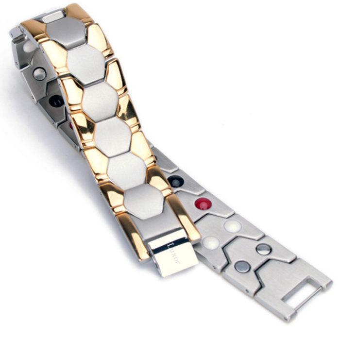 Магнитный браслет Релакс Gold