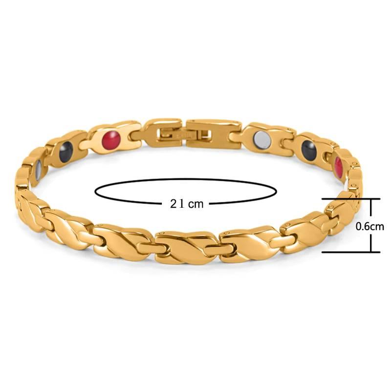 Магнитный браслет Сицилия Gold
