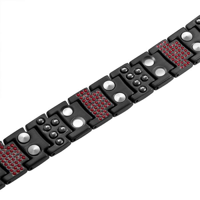 Магнитный браслет Премиум Топ Люксор black