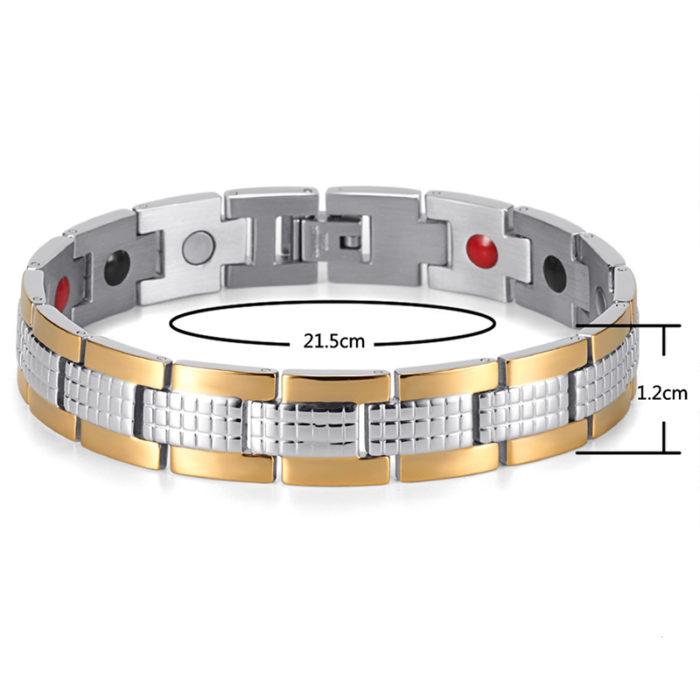 Магнитный браслет Золотой Джин