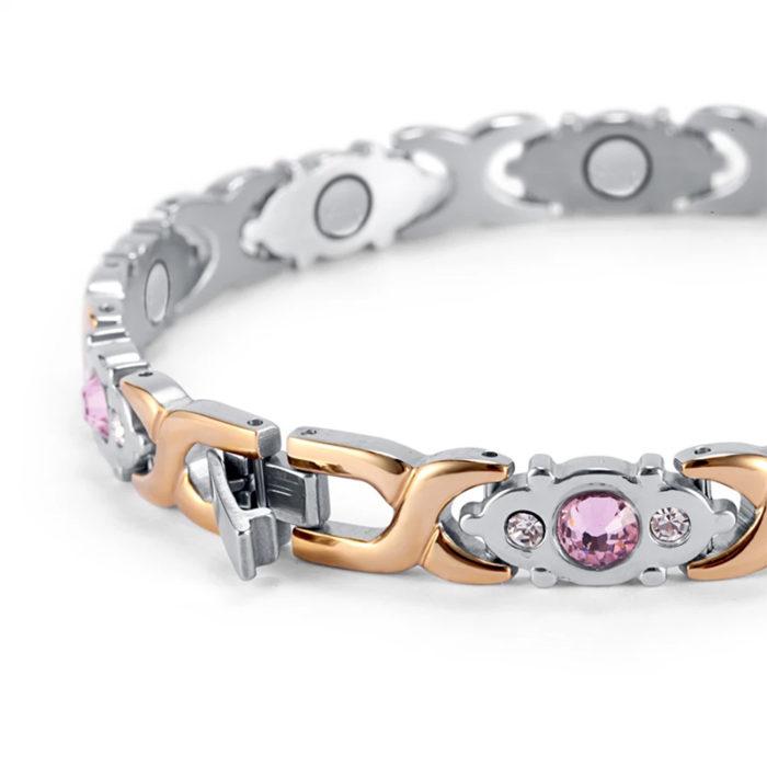 Женский магнитный браслет Атлас