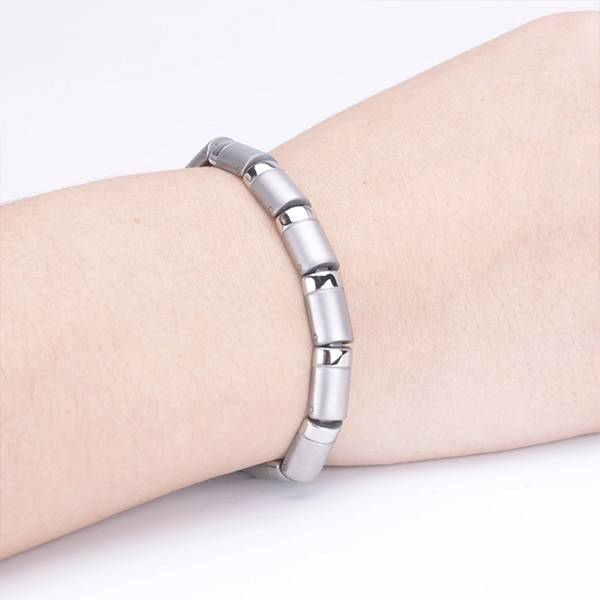 Магнитный браслет Апачи silver