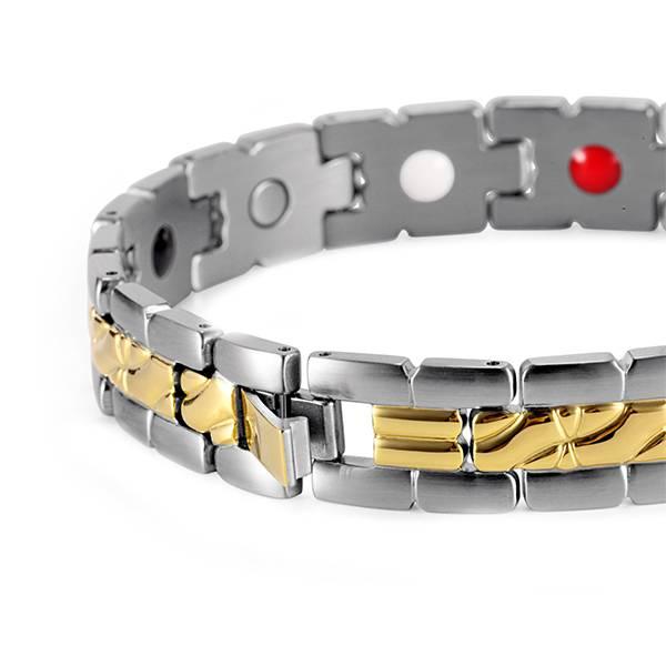 Магнитный браслет Мифрил gold