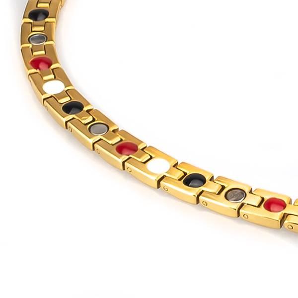 Магнитное ожерелье Noel Gold