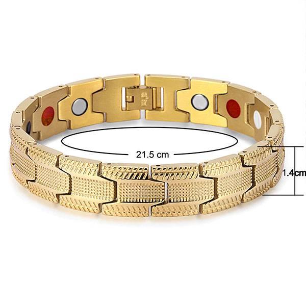 Магнитный браслет Порту Gold 1
