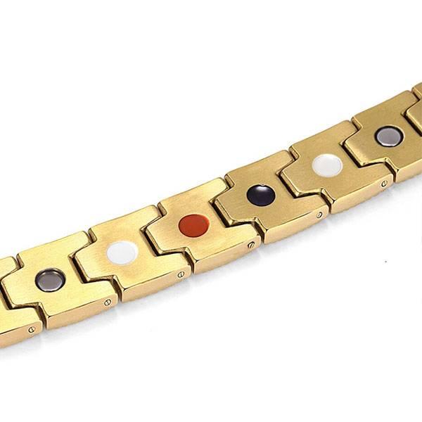 Магнитный браслет Порту Gold 3