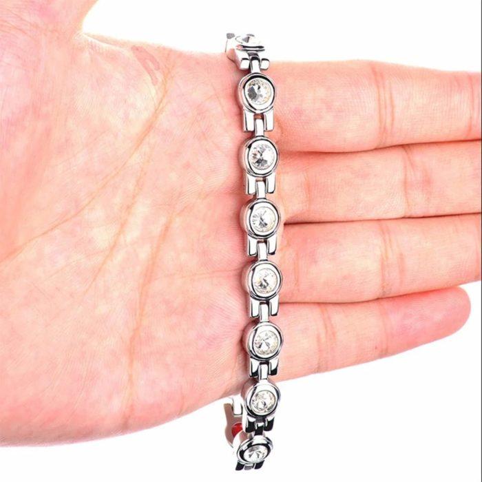 Магнитный браслет Донателла Silver