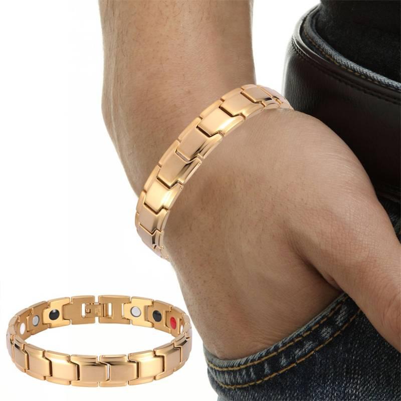 Магнитный браслет Константа Gold