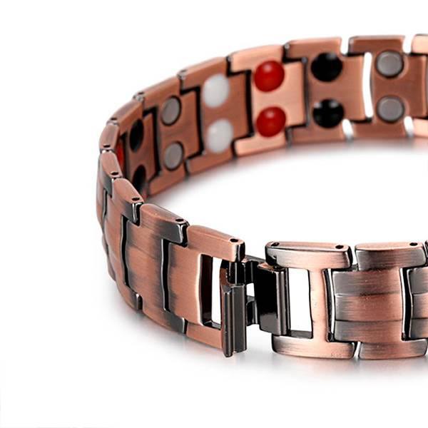 Медный магнитный браслет Люксор