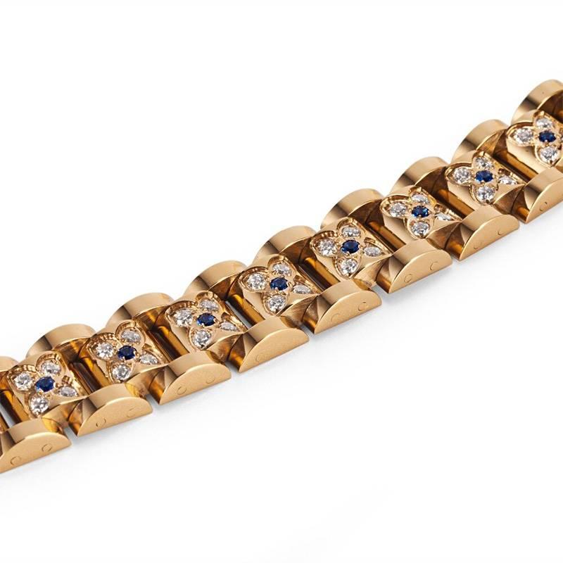 Магнитный браслет Gold Fashion