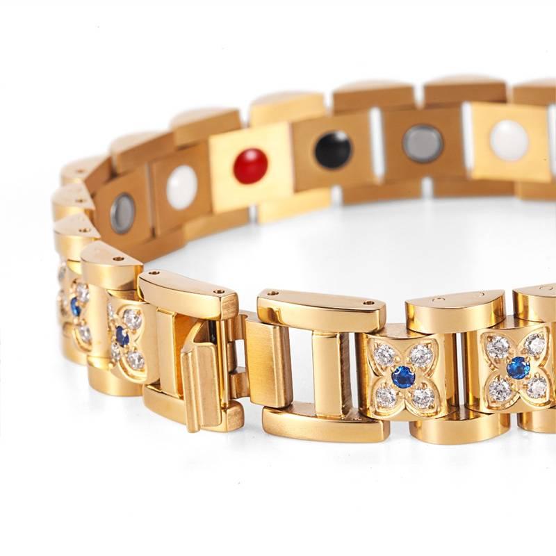 Магнитный браслет Gold Fashion женский