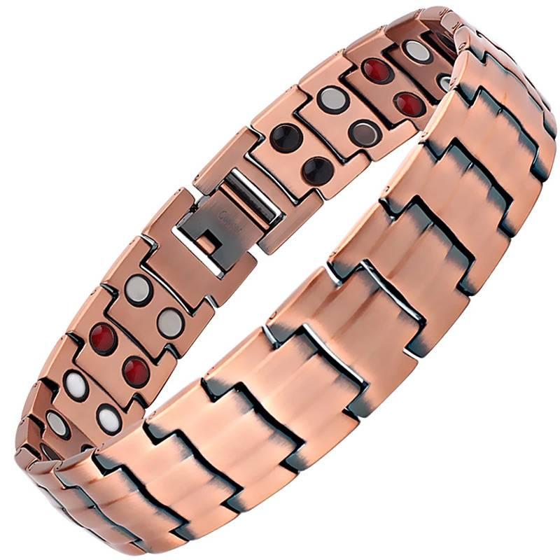 Медный магнитный браслет Топ Люксор